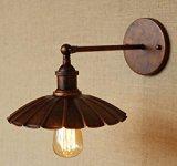 YuTing American Retro Wandleuchte/einfache Persönlichkeit und kreative Wand Lampen/outdoor antiken europäischen Stil Wandleuchte/Industrie Bügeleisen Schlafzimmer Lampen , Rost (ohne Quelle)
