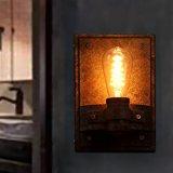 CJLOVE Indoor Fashion Vintage LED der amerikanischen Industrie Bügeleisen Single Head Wandleuchten für Wohnzimmer Esszimmer Schlafzimmer