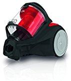 Dirt Devil DD2325-3 Yazz3.1 Singlecyclone Staubsauger EEK B (800 W Hocheffizienzmotor, 2,5 L, HEPA Media Ausblasfilter, ohne Beutel) schwarz