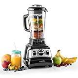 Klarstein Herakles-3G Standmixer Soupmaker Küchenmixer (1500 Watt, 2 Liter-Krug, BPA-frei, integrierte Kochfunktion) schwarz