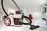 Neue Version: Leistungsfähiger Staubsauger ZYKLON POWER 2200 Bodenstaubsauger , Zyklon Beutellos [Energieeffizienzklasse C]