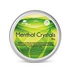 Einfache Erde Menthol Kristalle 30g Jar,-Linderung Symptome des Erkältung und Grippe, zu die Sinus
