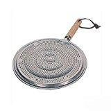 Simmerring Pfanne Matte Hitze Diffusor für elektrische oder Durchmesser 21cm Marke New