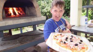 pizzaöfen & pizza