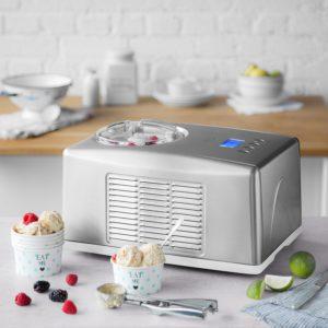 Eismaschine Emma 1,5 L mit selbstkühlendem Kompressor | Ice-Cream-Maker